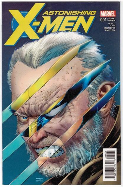 Astonishing X-Men #1 1:50 John Cassaday Variant Marvel 2017 VF/NM