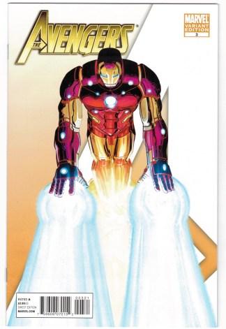 Avengers #3 1:75 John Romita Jr Iron Man Variant Marvel 2010 VF/NM