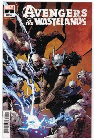 Avengers of the Wastelands #3 1:25 Zaffino Variant Marvel 2020 VF/NM