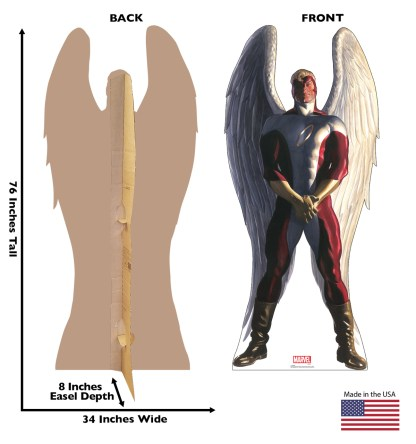 Alex Ross Marvel Timeless Collection Cardboard Standups -- Angel