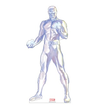 Alex Ross Marvel Timeless Collection Cardboard Standups -- Iceman