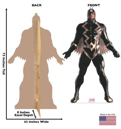 Alex Ross Marvel Timeless Collection Cardboard Standups -- Black Bolt