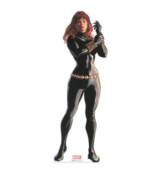 Alex Ross Marvel Timeless Collection Cardboard Standups -- Black Widow