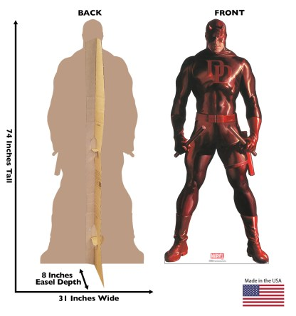 Alex Ross Marvel Timeless Collection Cardboard Standups -- Daredevil