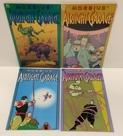 Airtight Garage #1-4 Complete Set Moebius Marvel Epic 1993 VF/NM
