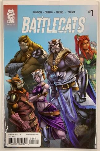 Battlecats vol 2 #1-6 Complete Set + ComicFest Mad Cave 2019 Sealed VF/NM