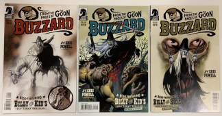 Buzzard #1-3 Complete Set Eric Powell Goon 2010 VF/NM