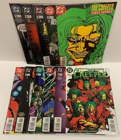 Creeper #1-11 DC 1997 Martinbrough Buscema VF/NM