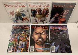 Highland Laddie #1-6 Complete Set Dynamite 2010 The Boys VF/NM