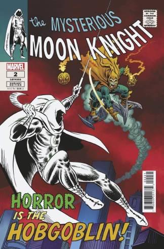 Moon Knight #2 1:50 John Romita Sr Hidden Gem Variant Marvel Est Ship Date 8/18