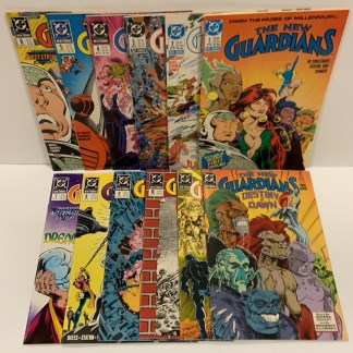 New Guardians #1-12 DC 1988 Millennium Snow Flame VF/NM