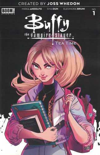 Buffy the Vampire Slayer Tea Time #1 1:10 Boo Variant Boom! 2021