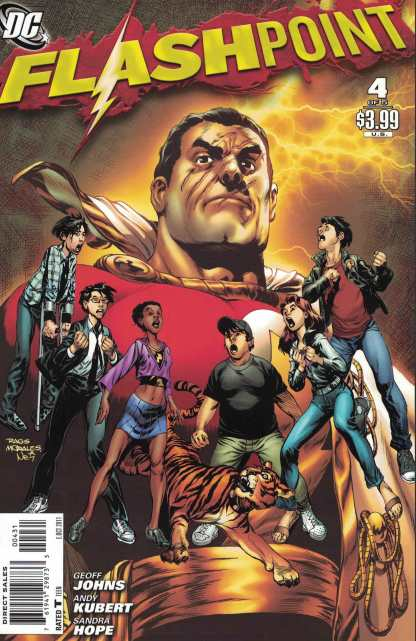 Flashpoint #4 Morales Variant DC 2011 Geoff Johns