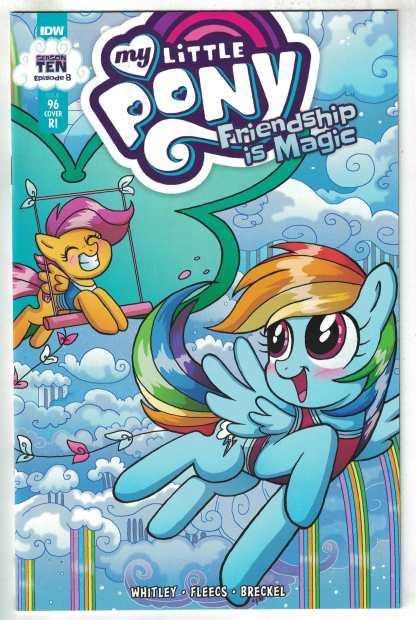 My Little Pony Friendship is Magic #96 1:10 Bellamy Variant IDW 2012 VF/NM