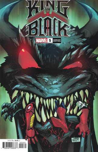 King in Black #5 1:50 Sandoval Variant Marvel 2020 Cates Stegman