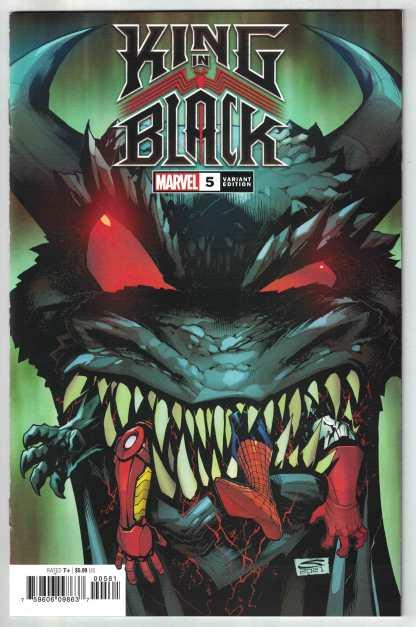 King in Black #5 1:50 Sandoval Variant Marvel 2020 Cates Stegman VF/NM