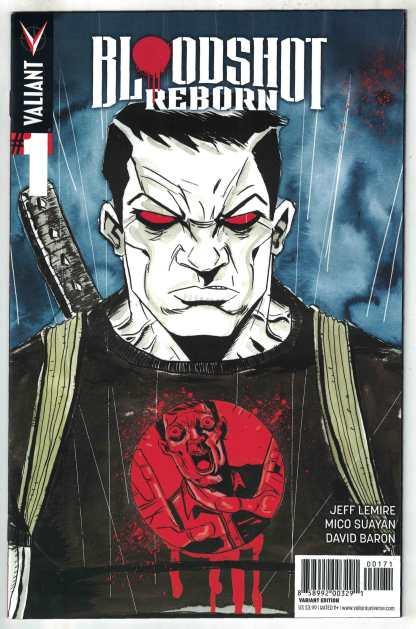 Bloodshot Reborn #1 1:20 Lemire Variant Valiant 2015 VF/NM