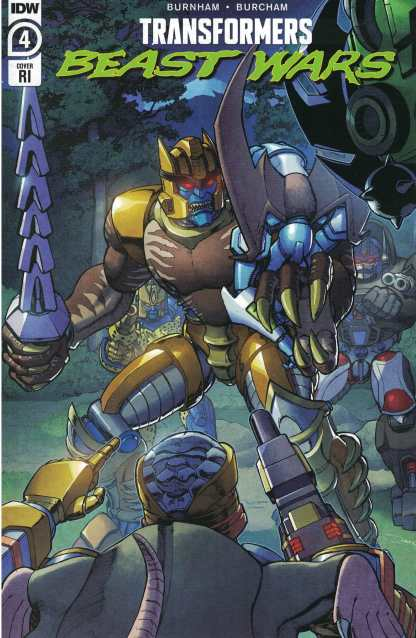Transformers Beast Wars #4 1:10 Khanna Variant IDW 2021
