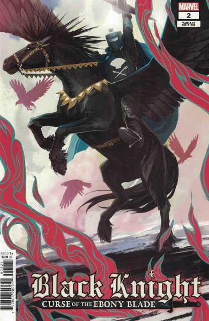 Black Knight Curse of the Ebony Blade #2 1:25 Hans Variant Marvel 2021 Spurrier