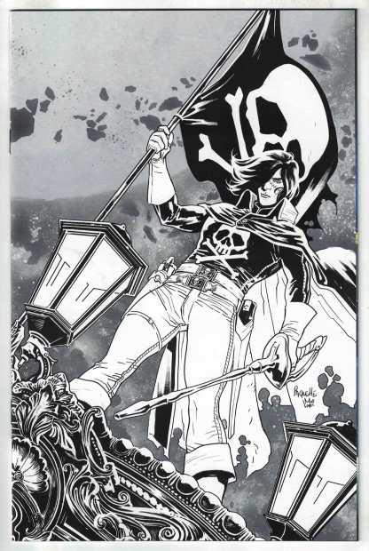 Space Pirate Captain Harlock #1 1:10 Paquette Virgin Variant Ablaze 2021 VF/NM