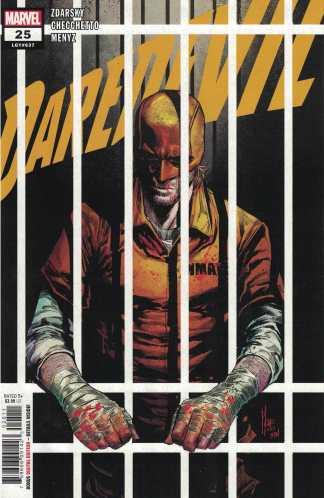 Daredevil #25 1st Print Cover A Checchetto CVR Elektra Marvel 2019 Zdarsky