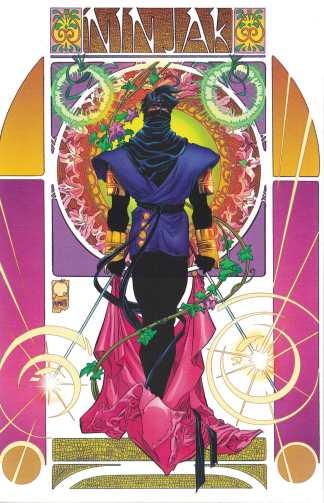 Ninjak #1 Ultimate Comics Exclusive Joe Quesada Color Variant A Valiant 2021