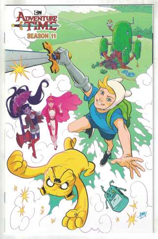 Adventure Time Season 11 #1 1:15 Mok Variant Boom 2018 VF/NM