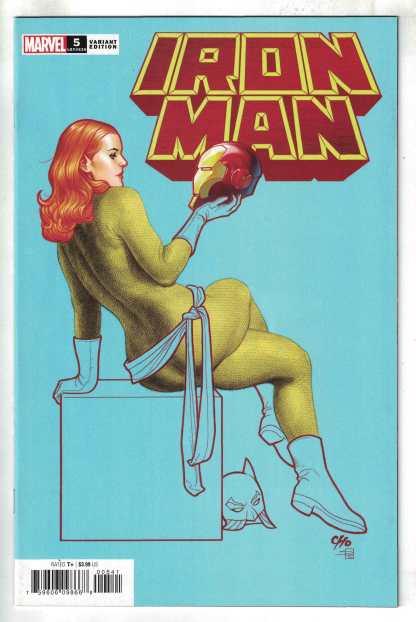 Iron Man #5 1:25 Cho Hellcat Variant Cantwell Marvel 2020 VF/NM