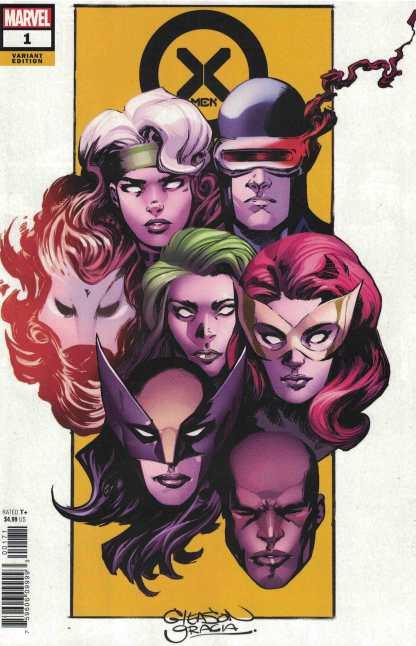 X-Men #1 1:100 Patrick Gleason Variant Cyclops Rogue Marvel 2021 Gerry Duggan