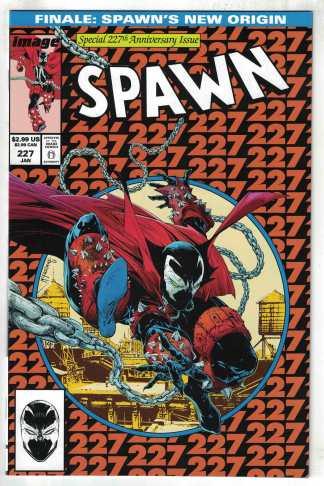 Spawn #227 Cover A McFarlane ASM #300 Homage Image 1992 VF/NM
