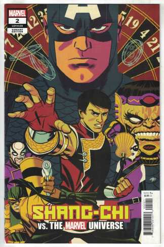 Shang-Chi #2 1:50 Cho Variant Marvel 2021 1st Appearance Lady Iron Fan VF/NM