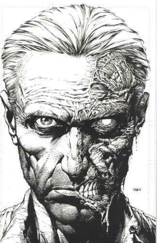 Walking Dead Deluxe #10 1:25 2nd Print Finch Sketch Variant Image 2020 Kirkman