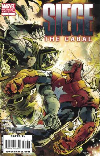Siege the Cabal #1 1:50 Davis Variant Bendis Marvel 2009