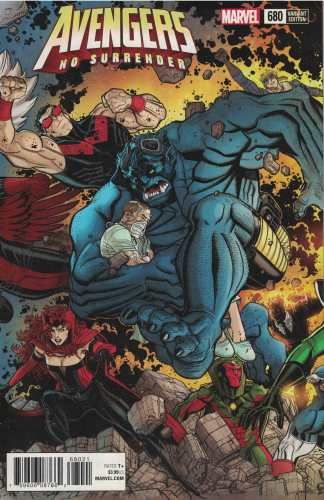 Avengers #680 1:25 Bradshaw Connecting Variant Marvel No Surrender 2017
