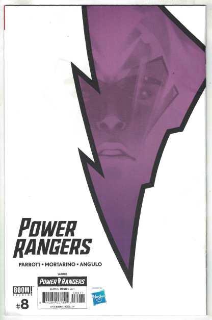 Power Rangers #8 1:25 Montes Variant Boom! 2020 VF/VF+