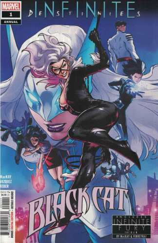 Black Cat Annual #1 CF Villa A CVR 1st Appearance Of Tiger Division Marvel 2021