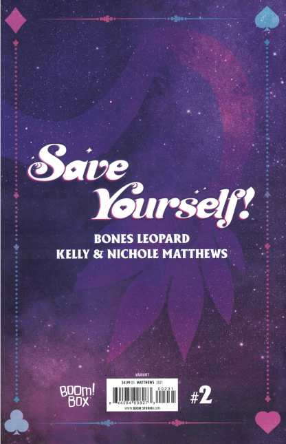 Save Yourself #2 1:10 Kelly & Nichole Matthews Virgin Variant Boom 2021