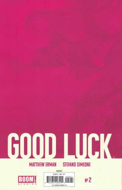 Good Luck #2 1:25 Inhyuk Lee Virgin Variant Boom 2021 Matthew Erman