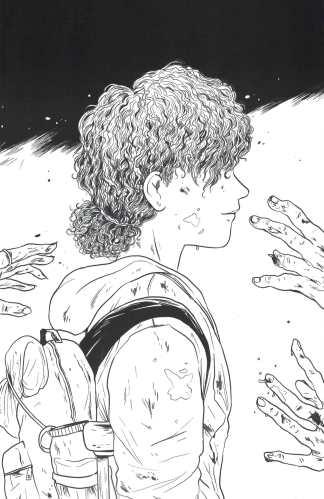 Skybound X #1 1:10 Walden B&W Sketch Variant Image 2021 Kirkman