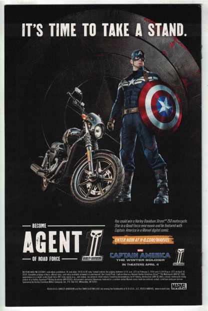 Elektra #1 1:50 Rivera Variant All-New Marvel Now! 2014 Haden Blackman VF/NM