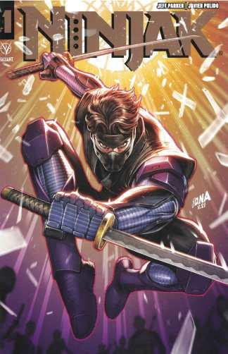 Ninjak #1 David Nakayama Gold Print Variant Valiant 2021 Jeff Parker