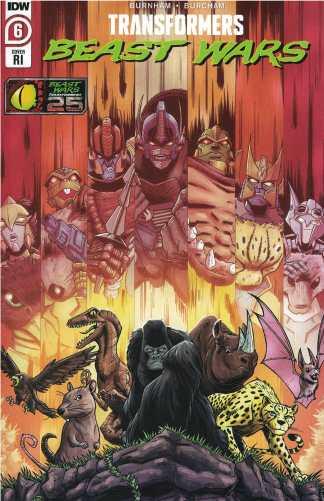 Transformers Beast Wars #6 1:10 Alex Milne Variant IDW 2021