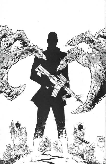 Nocterra #5 1:10 Daniel B&W Virgin Variant Image 2021 Snyder
