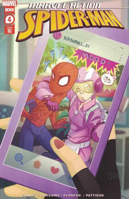 Marvel Action Spider-Man #4 1:10 Florean Variant IDW 2020