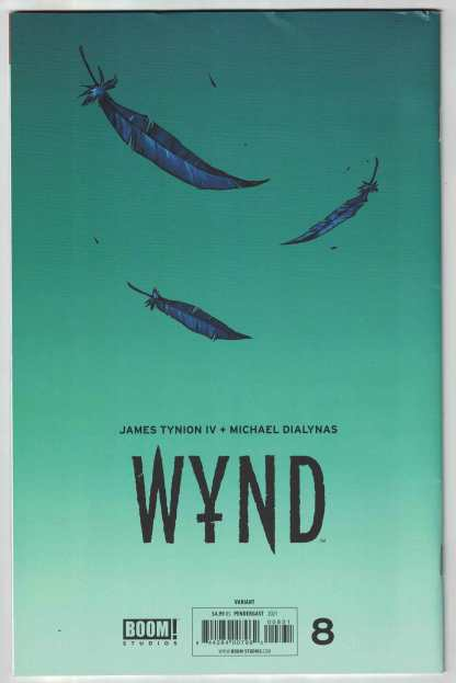 WYND #8 1:25 Dani Pendergast Virgin Variant Boom 2020 James Tynion IV VF/NM