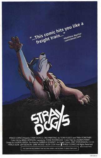 Stray Dogs #2 3rd Print Fleecs & Forstner Evil Dead Variant Image 2021