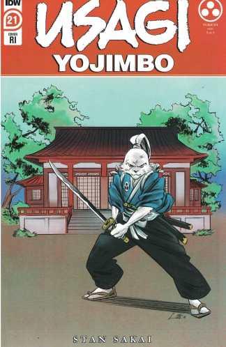 Usagi Yojimbo #21 1:10 Soo Lee Variant IDW 2019 Stan Sakai