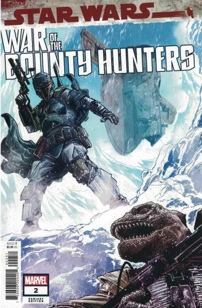 Star Wars War of the Bounty Hunters #2 1:50 Checchetto Variant Marvel 2021