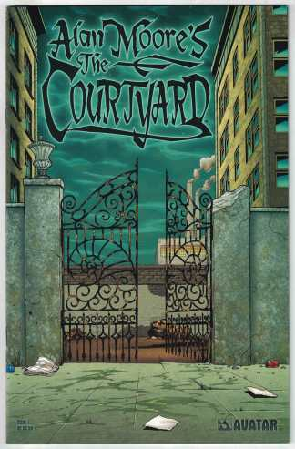 Courtyard #1 Jacen Burrows A CVR Avatar 2003 Alan Moore F/VF