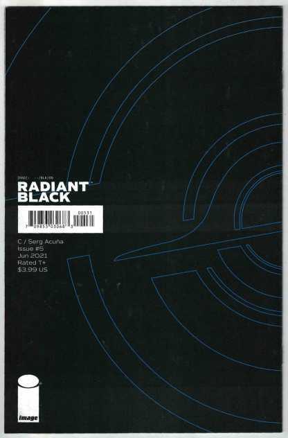Radiant Black #5 1:25 Serg Acuna Virgin Variant Image 2021 Kyle Higgins NM-